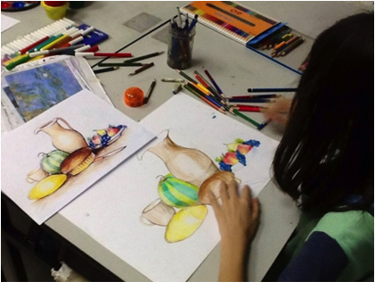 Sketching class in Singapore